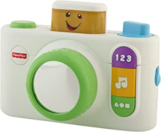 Fisher-Price Laugh and Learn Click 'n Learn 相机玩具 白色