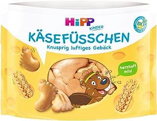 HiPP 喜宝 奶酪味小脚丫形状儿童饼干 适合3岁以上 6包装 28g*6
