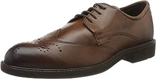 ECCO 男士 Vitrus Iii 粗革皮鞋