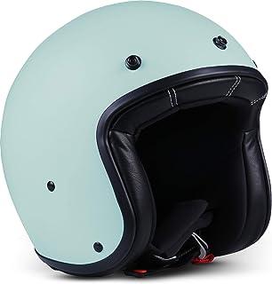 Rebel R9 ECE 认证 DOT 玻璃纤维超小头盔 XL (61-62cm) 蓝*() R9_BASIL_XL