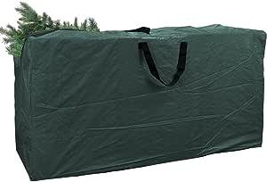 Greenco 超大圣诞树存储袋,适用于 9 英尺的树,深绿色,尺寸 65 x 15 x 30 英寸