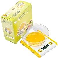 加唯仕方型电子称厨房秤K002(称重范围0.1g-3kg,0.1g进位)(赠托盘)(烘焙/中药/美容/煲汤之必备)(亚马逊自营商品, 由供应商配送)