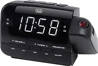 Unbekannt Trevi RC 858 PJ Radiowecker 灯,黑色,15.3 x 6 x 9.8厘米