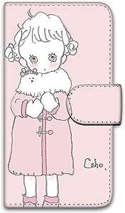caho 保护套印花翻盖外套与少女手机保护壳翻盖式适用于所有机型  コートと少女E 18_ Moto G5s Plus XT1805