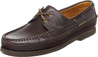 Mephisto 男式 Hurrikan 船鞋 ,Dark Brown,7.5 M US