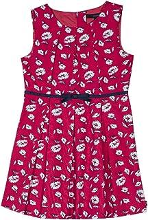 Nautica 女童短袖时尚连衣裙
