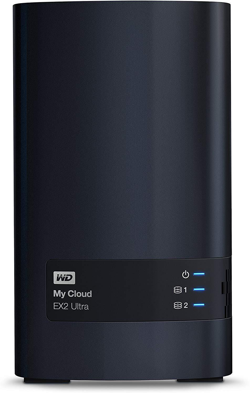 WD Western DigitalのマイクラウドEX2ウルトラネットワーク接続ストレージ4TB