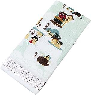 今治产毛巾毛巾布餐碗组日本温泉33× 100cm 30915