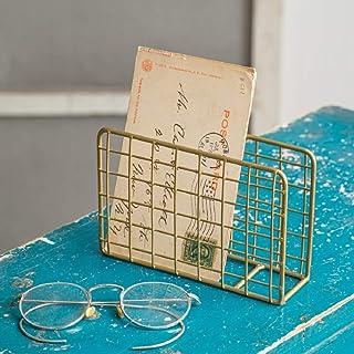 CTW Home Collection 460255 金属信件夹 - 古铜色 - 2 盒