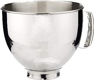 KitchenAid 凱膳怡 料理機廚師機配件5QT專用不銹鋼攪拌碗K5THSBP