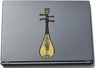 象形中国-中国宝石17 150 mm 中国仪器贴纸适用于笔记本电脑