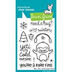Lawn Fawn Clear Stamps - Yeti, Set, Go #LF567