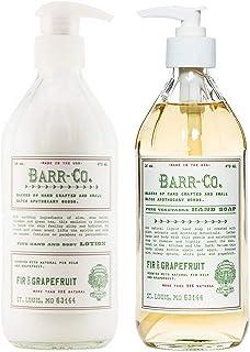 Barr-co.冷杉葡萄柚乳液和冷杉&葡萄柚液体洗手液