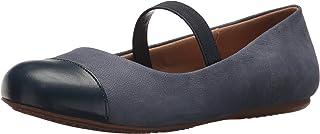 Softwalk 女式 napa MJ Mary JANE 平底鞋
