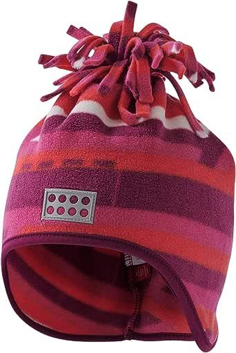 LEGO Wear Baby 乐高 Duplo Lwaustin 708-Fleecemütze 帽子,多种颜色 (深粉色 496),49/51(尺码:50)