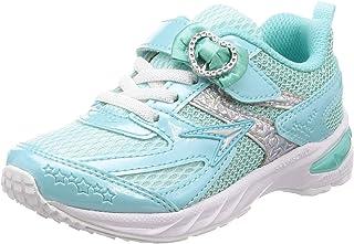 SYUNSOKU 瞬足 轻便防滑学生运动鞋 V8 15 cm~23 cm 2.5E 女童 LEC 5710 浅蓝色白底 23.0 cm