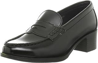 [玫瑰粉丝] 美足跟乐福鞋 4.5cm跟 宽幅3E相当 J600-3001