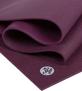 "Manduka PROlite 瑜伽垫 - 优质 4.7 毫米厚垫,环保,环保,环保纺织认证,不含任何化学物质。 高性能抓地力、超厚缓冲垫,可在瑜伽、普拉提、健身房和任何一般健身时提供支撑和稳定性。 Indulge 79""(Logo颜色变更,请..."