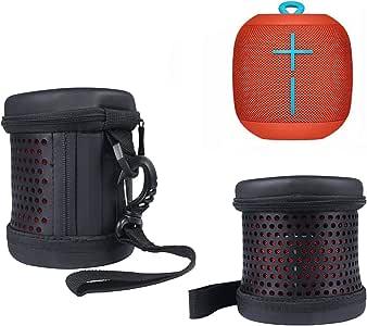 旅行携带保护便携式袖套保护套袋包 适用于 Logitech UE BOOM UE BOOM 2 Wireless UE Uitimate 耳朵 Boom 蓝牙音箱LG-412