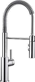 Blanco 鉑浪高 Catris-S,帶拉出式軟管的單把手龍頭 / 廚房龍頭,高壓,鍍鉻,1件,521476