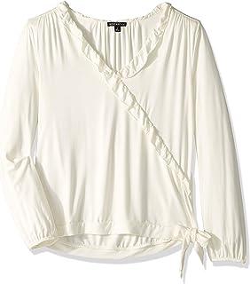 J.Crew Mercantile 女式褶皱边裹身上衣