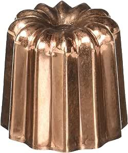 """De BUYER 有色铜""""Caneles""""凹模 铜色 O 2.25"""" 6820.55"""