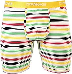 MyPakage 男士工作日平角内裤,Hudson 条纹,XS 码 (28-30)