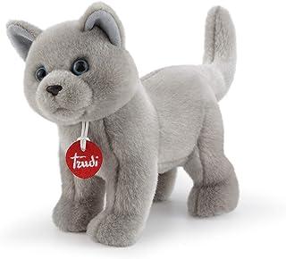 Trudidio 21038 猫毛绒玩具 灰色