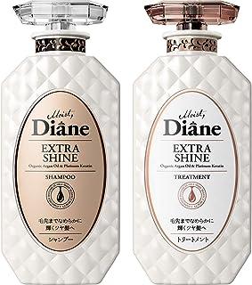 Moist Diane黛丝恩 Prefect Beauty Extra Shine 洗发水&护发素套装 フローラル 450ml×2 ボトルセット
