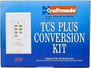 Craftmade AT52 墙壁装置遥控全控制系统*套件 古青铜 AT-TCSPLUS-AG