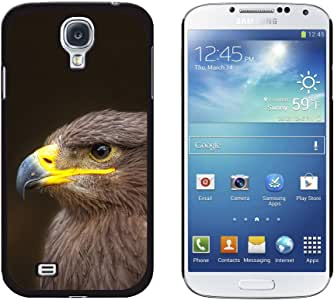 Graphics and More Golden Eagle Snap-On Hard Protective Case for Samsung Galaxy S4 - Non-Retail Packaging - Black