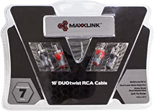 Maxxlink DUOtwist RCA Cable