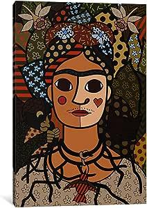 "iCanvasART 1 件自拍像(Frida Kahlo之后)画布印刷,Tyrone,152.40 cm x 101.60 cm/3.81 cm 深 18"" x 12"" ICA452-1PC6-18x12"