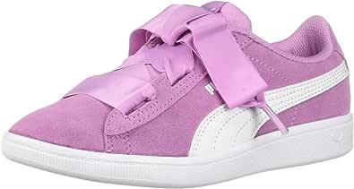 PUMA Vikky Ribbon 儿童运动鞋 Orchid-puma White 1 Little Kid