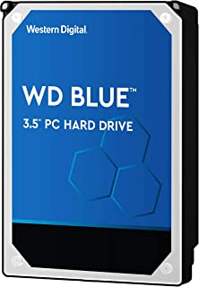 Western Digital 西部数据 蓝色 4TB PC硬盘 - 5400 RPM Class, SATA 6 Gb/s, 64 MB高速缓存, 3.5英寸 - WD40EZRZ