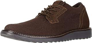 Dockers 男士 Einstein 针织/皮革智能系列正装休闲牛津鞋 NeverWet Brown Knit/Nubuck 8 M US
