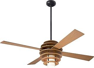 Modern Fan Co SLA-MP-52-MP-LED-004 当代现代现代 52``` 吊扇 来自 Stella 系列 青铜色/深色饰面,需配变压器