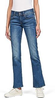 G-STAR RAW 女士中腰鞍狀中腰靴型牛仔褲 Midge Saddle Mid Waist Bootcut