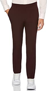 PERRY Ellis 男式 portfolio 非常修身纯色 TECH 长裤