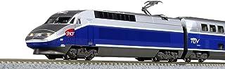 Kato N Gauge TGV(法国高铁)Réseau Duplex 10节车厢组 10-1529 铁路模型 电车