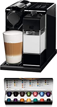 De'Longhi 德龙 Nespresso Lattissima Touch EN 560.B胶囊咖啡机 配有牛奶系统功能 滴停功能:可单独调节咖啡和牛奶的量 19 bar泵压 黑灰色