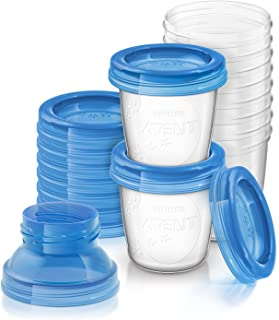 Philips AVENT 飞利浦新安怡母乳储存杯 6 盎司(10 只装)