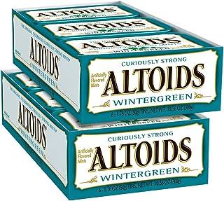 Altoids 經典冬青味薄荷糖, 1.76盎司(50g)馬口鐵盒裝 (12件裝)