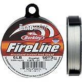 """Fireline XCR-1278 水晶编织串珠线,0.006""""/50 yd"""