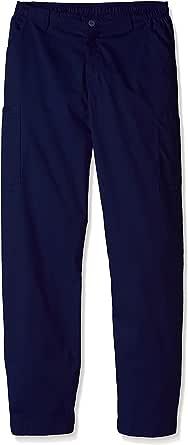 WonderWink 男士高大型 Wonderwork 男式工装磨砂裤,高大 *蓝 X-Small Tall