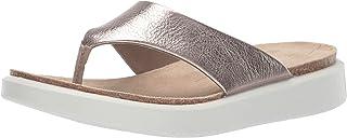 ECCO 女士 Corksphere 夹趾拖鞋