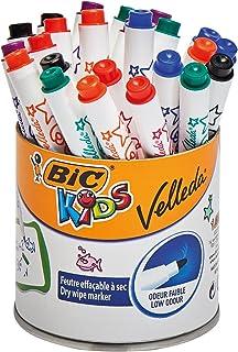 BIC Kids Mini VELLEDA Whiteboard - Marker (干燥可擦洗) 鼓带24件
