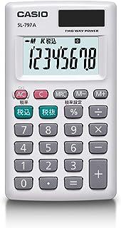 卡西欧个人计算器计算机8位税 カードタイプ