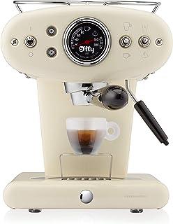 illy Metodo X1 Anniversary 浓咖啡和咖啡胶囊机, 1250 W, 米色