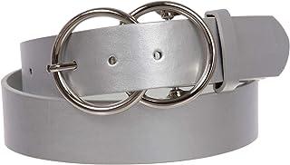 3.81 cm 圆形双圆结扣带皮带